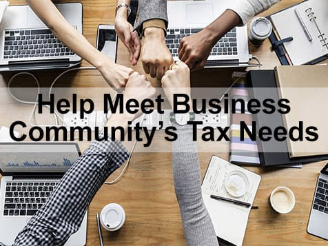 Happy Tax - Help Meet Tax Needs