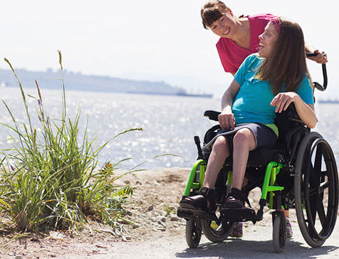 Nurse Next Door Professional Homecare Service Franchise wheelchair help