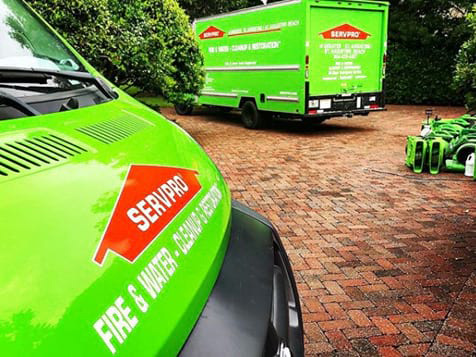 SERVPRO Franchise Trucks