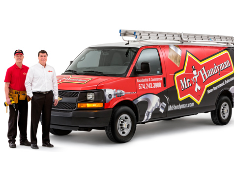 Mr. Handyman Franchise Vehicle