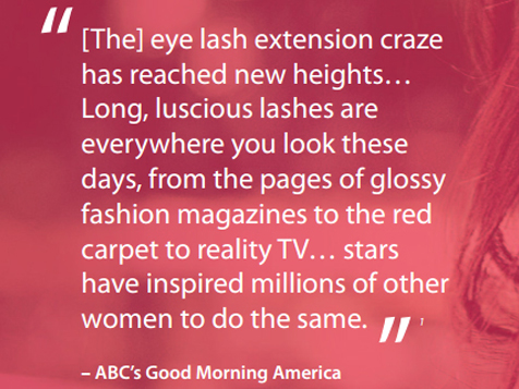 Good Morning America on the latest beauty trend