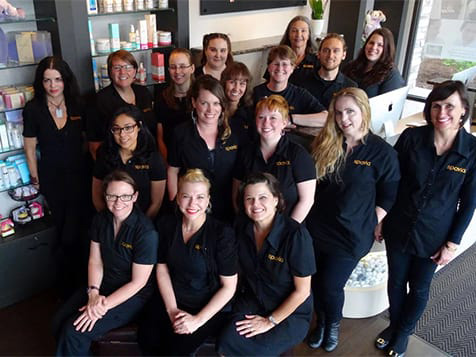 A Spavia Day Spa Franchise Team