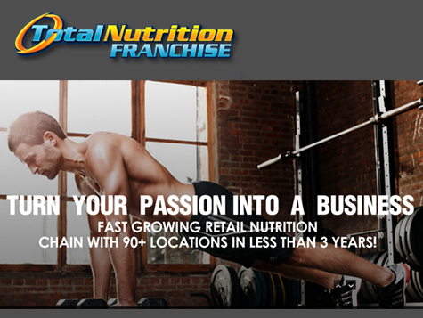 Total Nutrition Superstores® Franchise - the #1 sports nutrition store