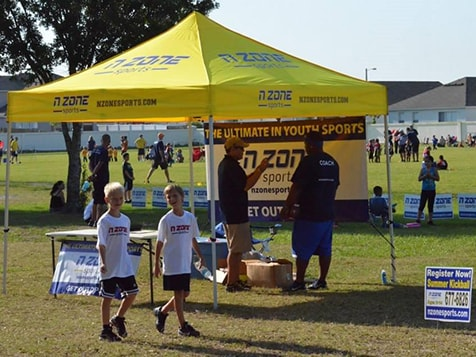 N Zone Sports Franchise Tent