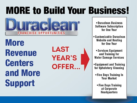 More Services with a Duraclean Franchise