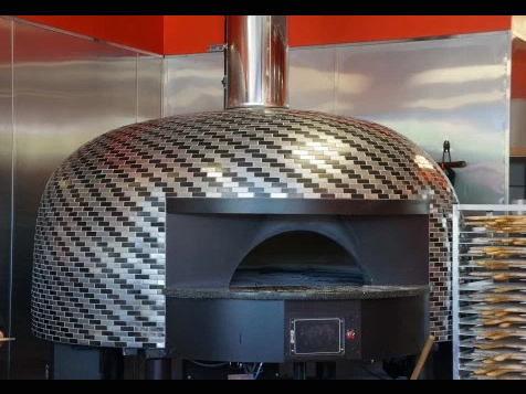 Gas 1000 Degrees Neapolitan Pizza Franchise Oven