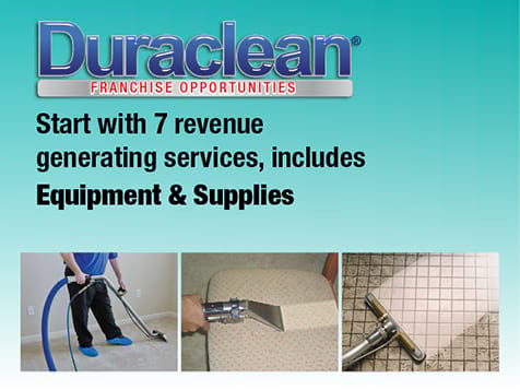 Duraclean Franchise Multiple Revenue Streams