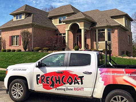 Fresh Coat Franchise Vehicle